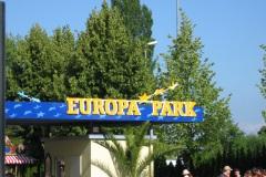 Les benjamines à Europapark